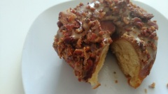 maple bacon mavericks donut company