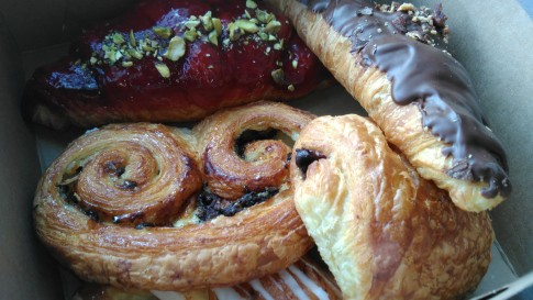 Pastry box from Premiere Moisson